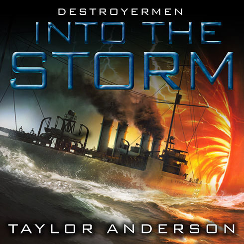 Printable Destroyermen: Into the Storm Audiobook Cover Art