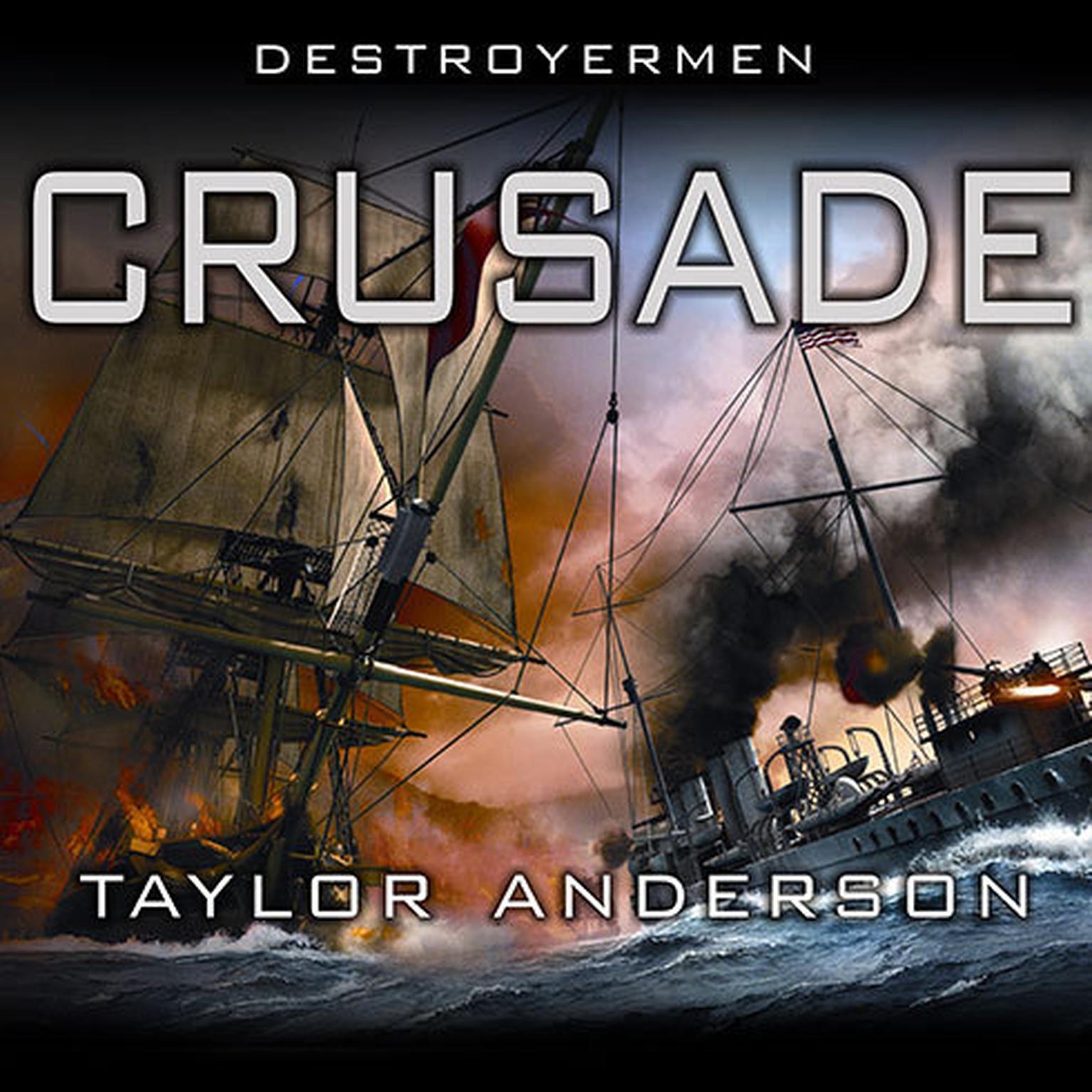 Printable Destroyermen: Crusade Audiobook Cover Art