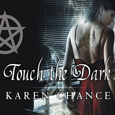 Printable Touch the Dark Audiobook Cover Art