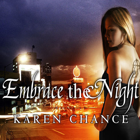 Printable Embrace the Night Audiobook Cover Art