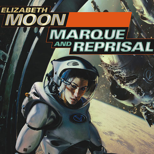Printable Marque and Reprisal Audiobook Cover Art