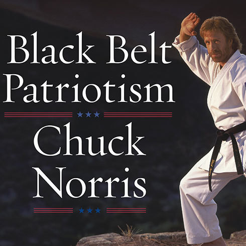 Printable Black Belt Patriotism: How to Reawaken America Audiobook Cover Art