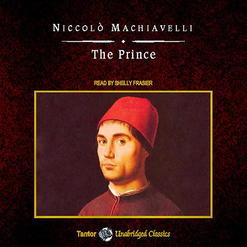 Printable The Prince Audiobook Cover Art
