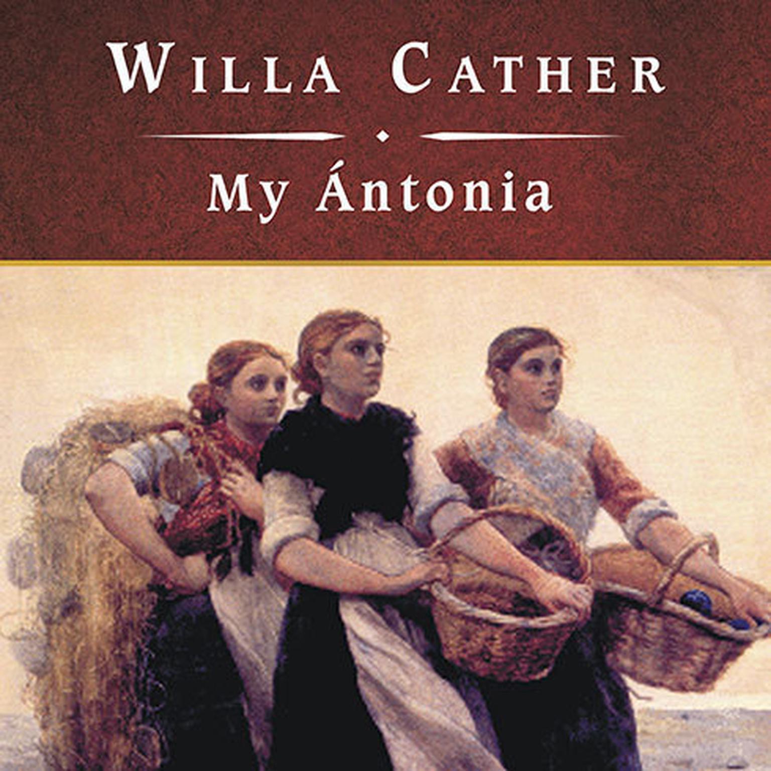 Printable My Antonia Audiobook Cover Art