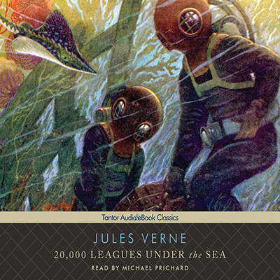 20,000 Leagues Under the Sea, with eBook Audiobook, by