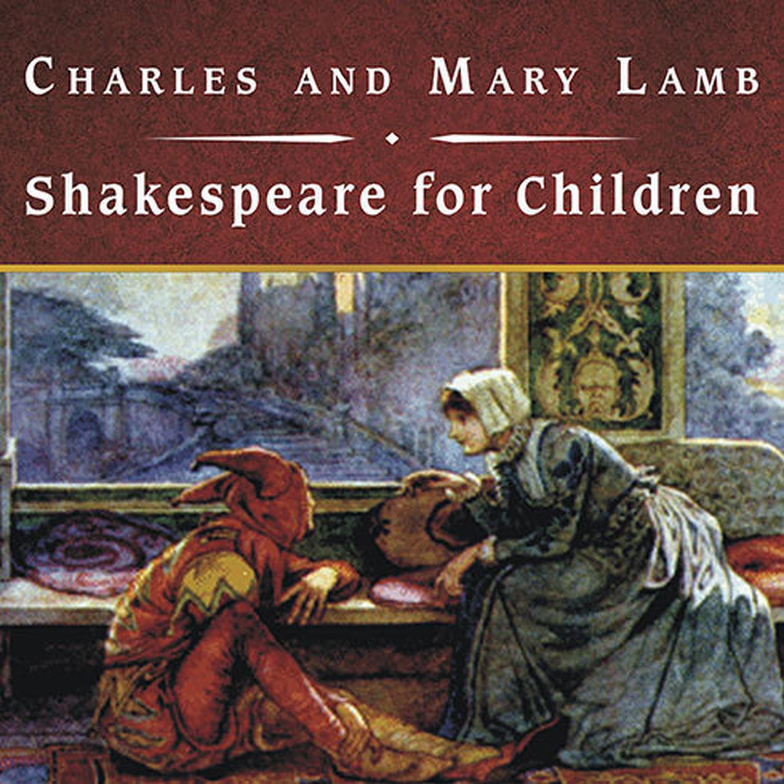 Printable Shakespeare for Children Audiobook Cover Art