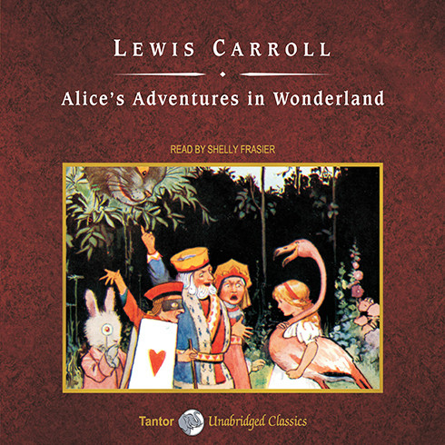 Printable Alice's Adventures in Wonderland Audiobook Cover Art