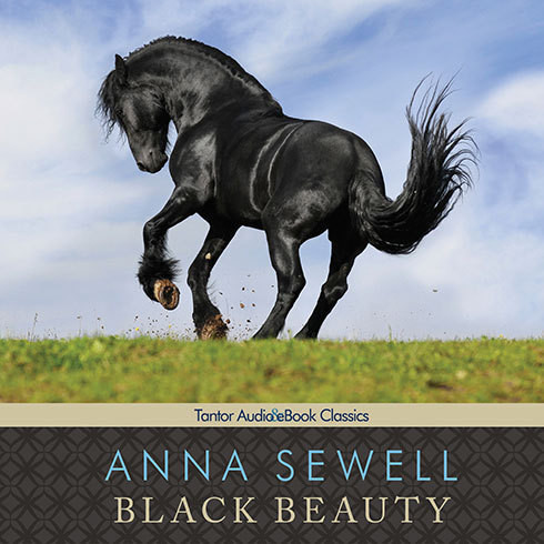 Printable Black Beauty: The Autobiography of a Horse Audiobook Cover Art