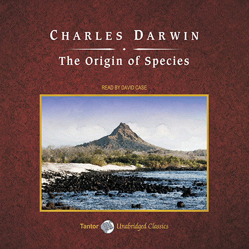 Printable The Origin of Species Audiobook Cover Art
