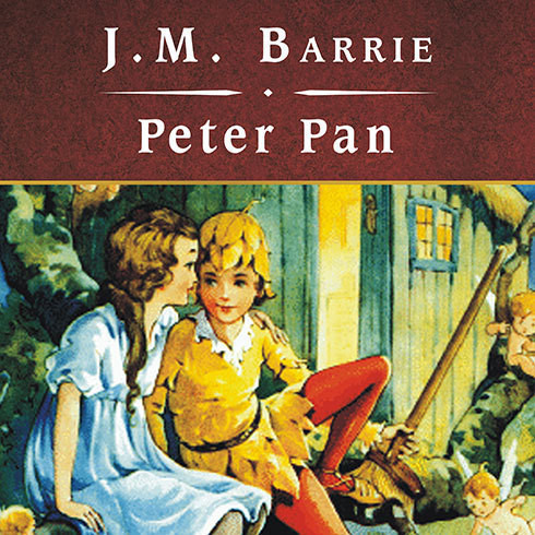 Printable Peter Pan Audiobook Cover Art