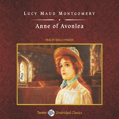 Printable Anne of Avonlea Audiobook Cover Art