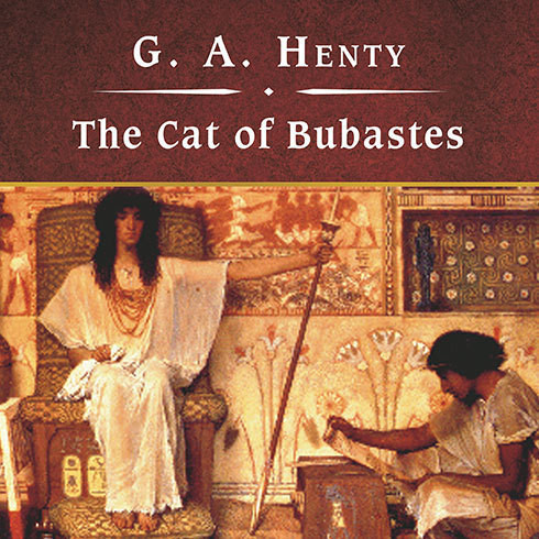 Printable The Cat of Bubastes Audiobook Cover Art