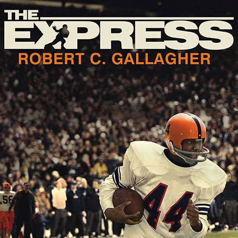 Printable The Express: The Ernie Davis Story Audiobook Cover Art