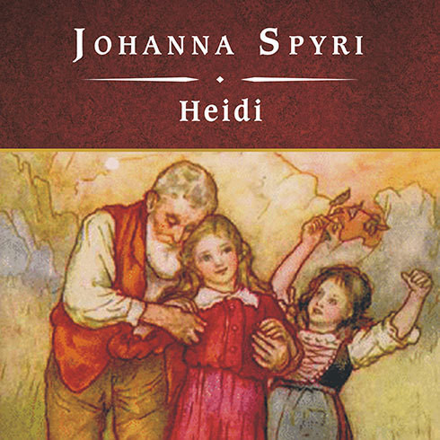 Printable Heidi Audiobook Cover Art