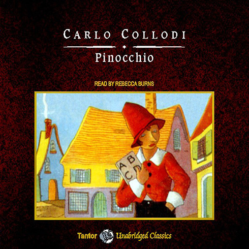 Printable Pinocchio Audiobook Cover Art