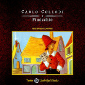 Pinocchio Audiobook, by Carlo Collodi, Rebecca Burns