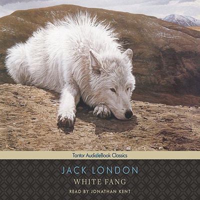 White Fang, with eBook Audiobook, by