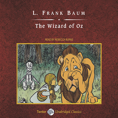 Printable The Wizard of Oz Audiobook Cover Art