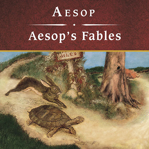 Printable Aesop's Fables Audiobook Cover Art