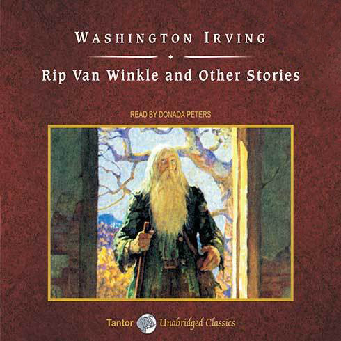 Printable Rip Van Winkle and Other Stories, with eBook Audiobook Cover Art