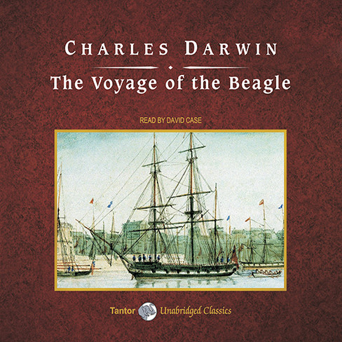 Printable The Voyage of the Beagle Audiobook Cover Art