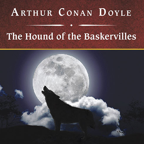 Printable The Hound of the Baskervilles Audiobook Cover Art