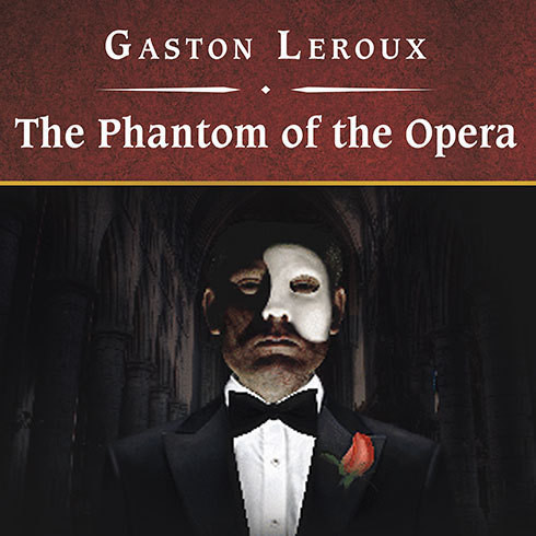 Printable The Phantom of the Opera Audiobook Cover Art