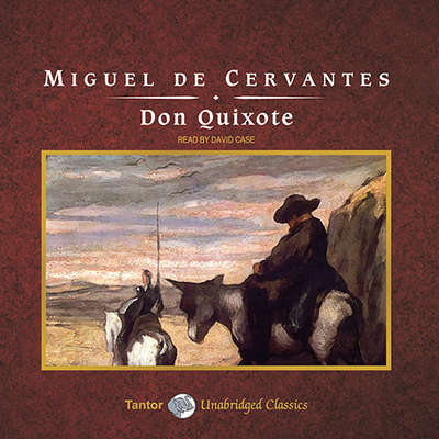 Don Quixote, with eBook Audiobook, by