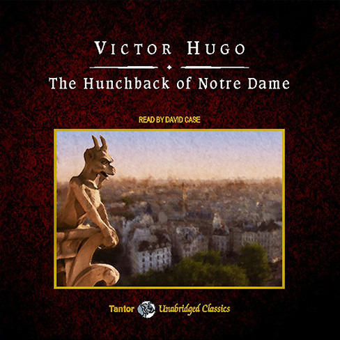 Printable The Hunchback of Notre Dame Audiobook Cover Art