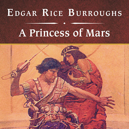 Printable A Princess of Mars, with eBook Audiobook Cover Art