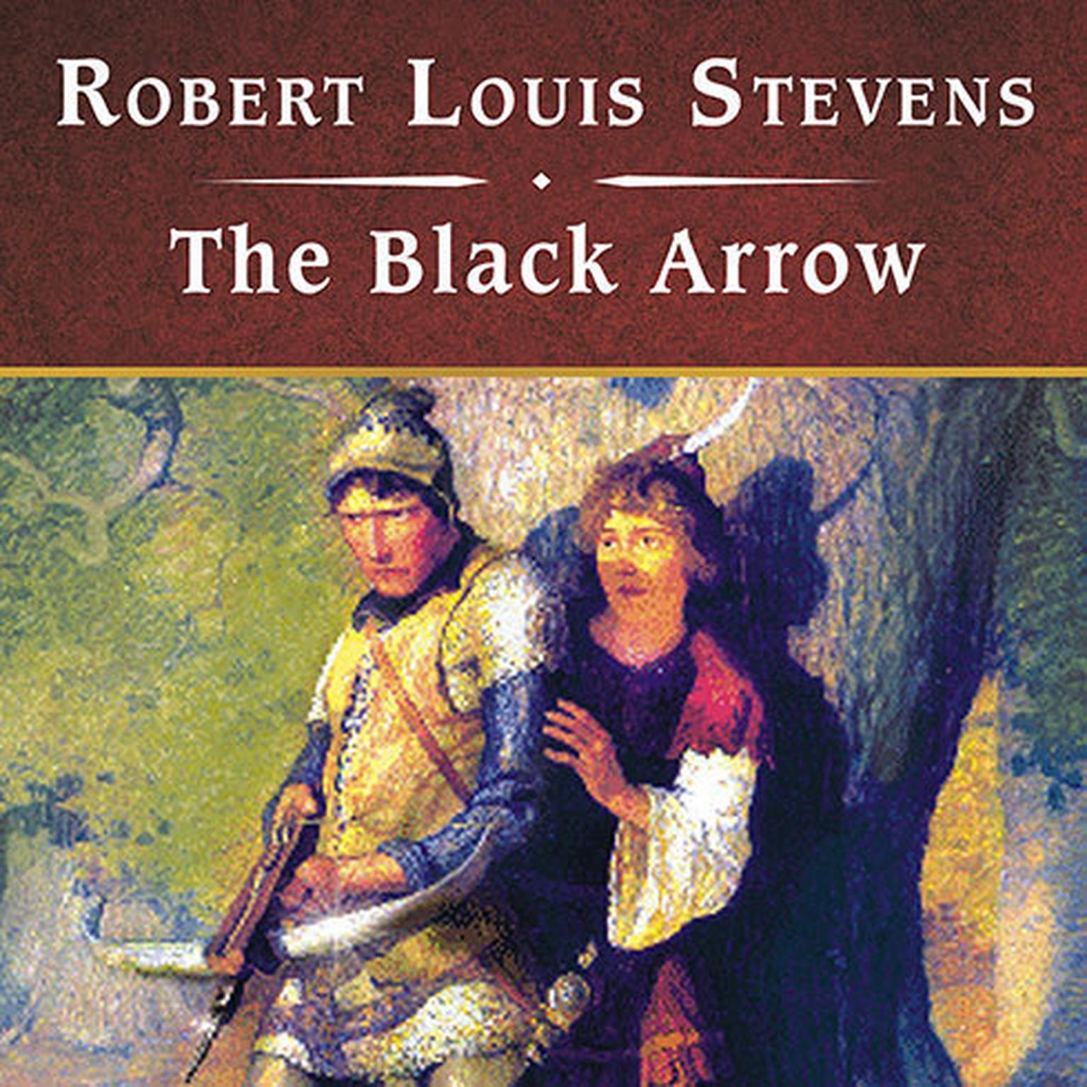 Printable The Black Arrow Audiobook Cover Art