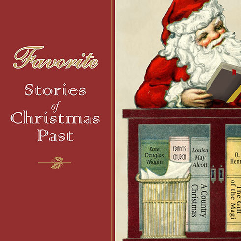 Printable Favorite Stories of Christmas Past Audiobook Cover Art