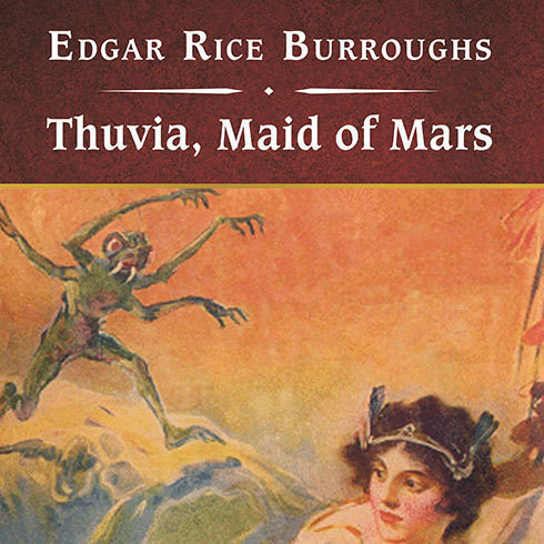 Printable Thuvia, Maid of Mars, with eBook Audiobook Cover Art