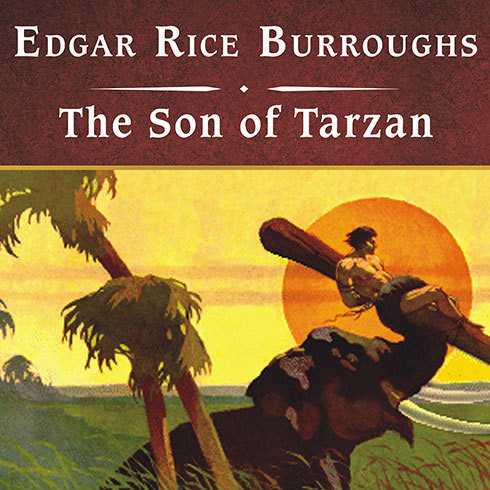 Printable The Son of Tarzan Audiobook Cover Art
