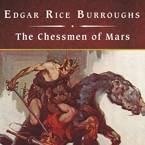 Printable The Chessmen of Mars Audiobook Cover Art