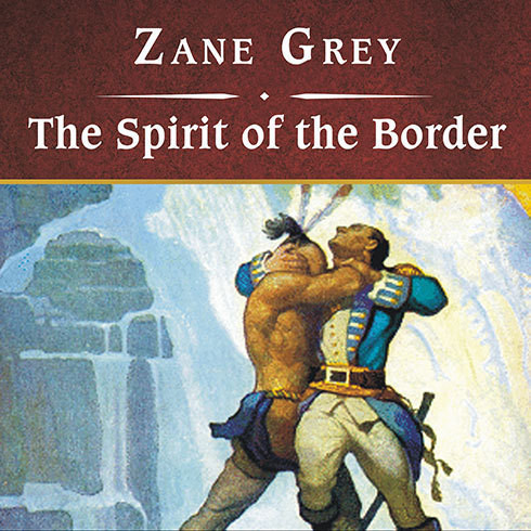 Printable The Spirit of the Border Audiobook Cover Art
