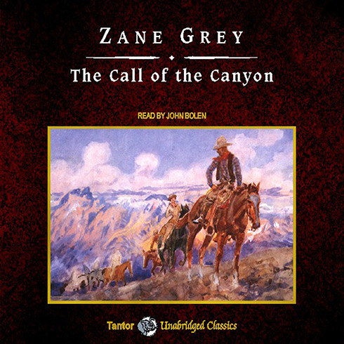 Printable The Call of the Canyon Audiobook Cover Art