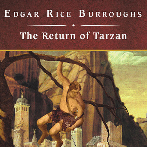 Printable The Return of Tarzan Audiobook Cover Art