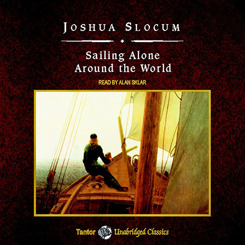 Printable Sailing Alone Around the World Audiobook Cover Art