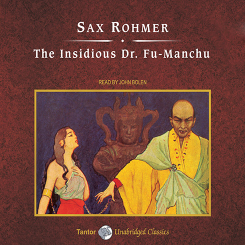 Printable The Insidious Dr. Fu-Manchu Audiobook Cover Art