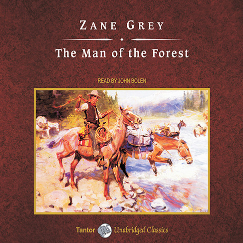 Printable The Man of the Forest Audiobook Cover Art