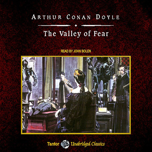 Printable The Valley of Fear Audiobook Cover Art