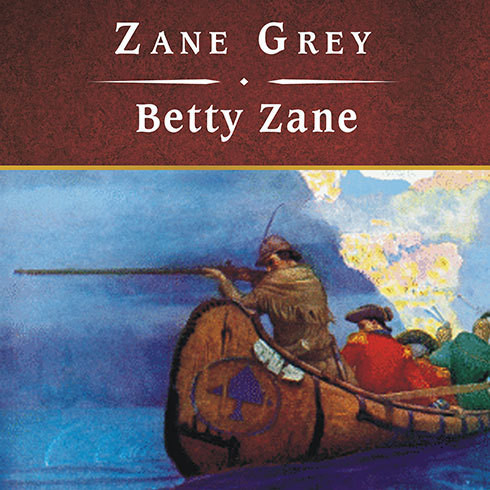 Printable Betty Zane Audiobook Cover Art