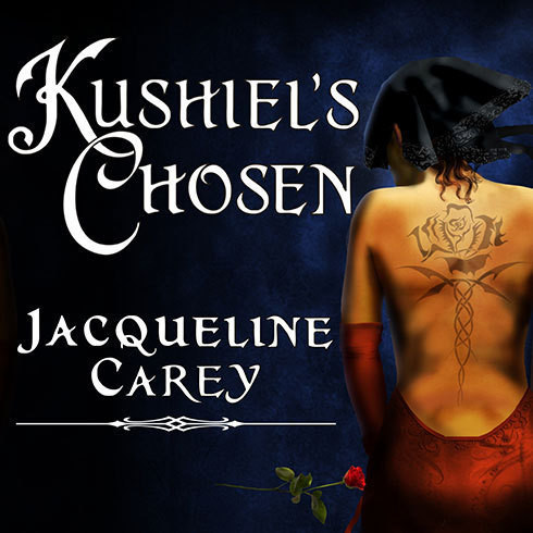 Printable Kushiel's Chosen Audiobook Cover Art