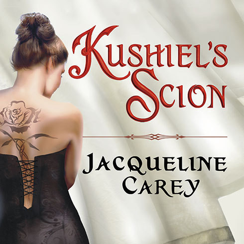 Printable Kushiel's Scion Audiobook Cover Art