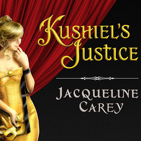Printable Kushiel's Justice Audiobook Cover Art