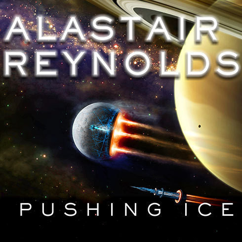 Printable Pushing Ice Audiobook Cover Art