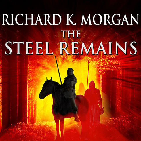 Printable The Steel Remains Audiobook Cover Art