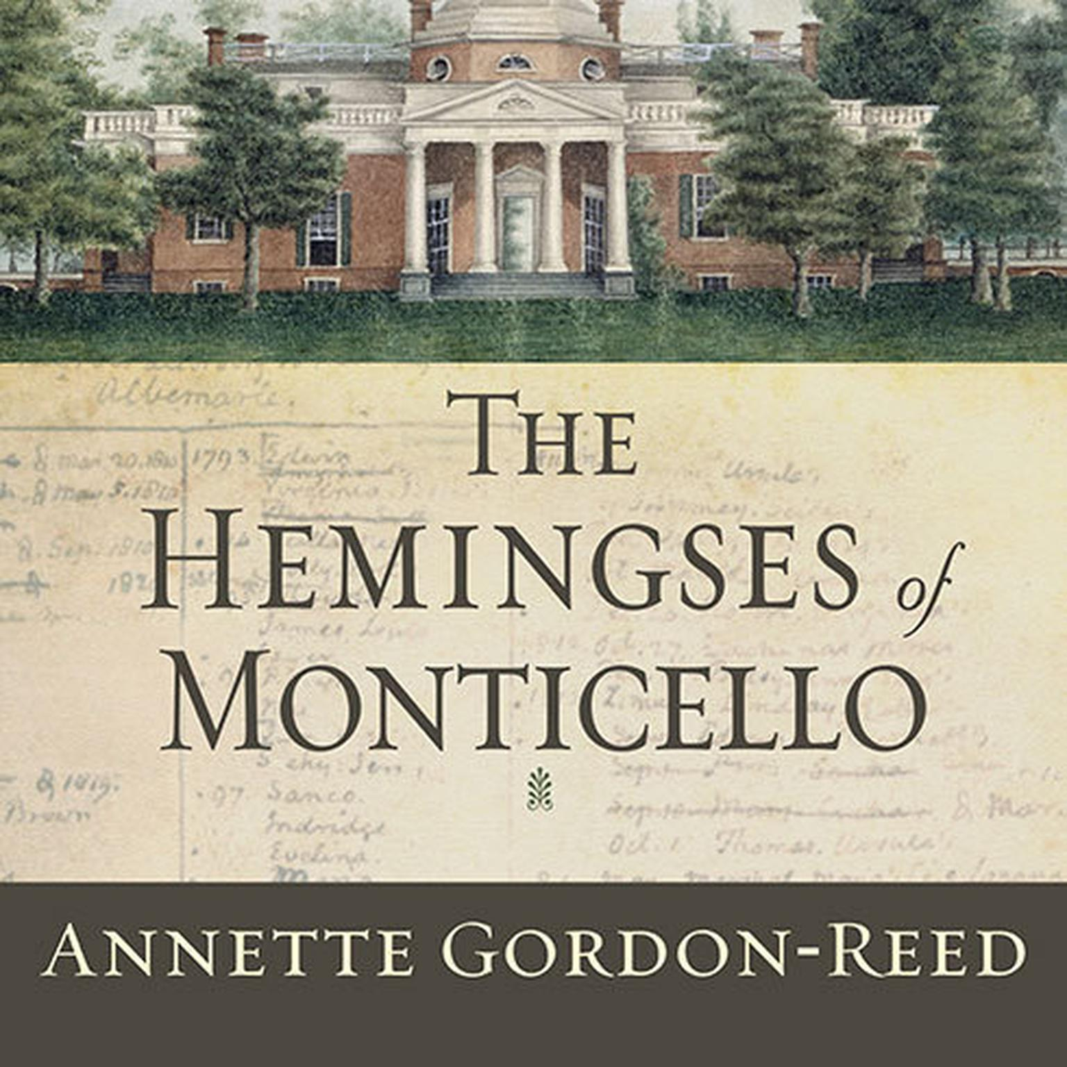 Printable The Hemingses of Monticello: An American Family Audiobook Cover Art