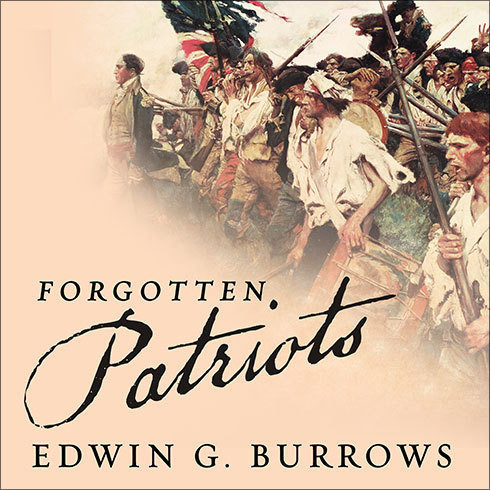 Printable Forgotten Patriots: The Untold Story of American Prisoners During the Revolutionary War Audiobook Cover Art